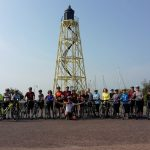 Group cycling in Holland