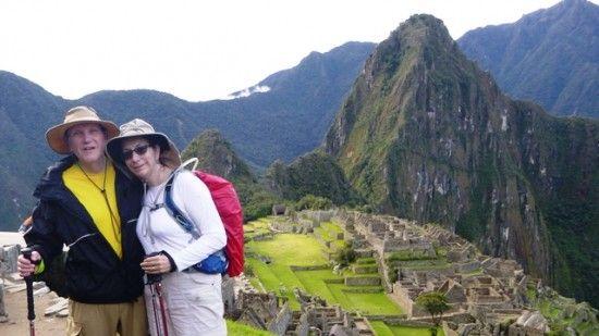 VBT travelers Ken and Helen