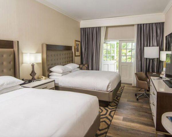 Hilton St. Augustine Historic Bayfront Bedroom