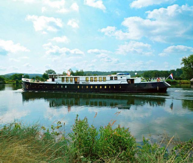 Holland Barge for Bike and Barge Trip
