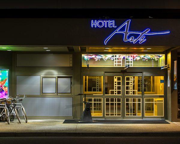 Hotel Arts Entrance