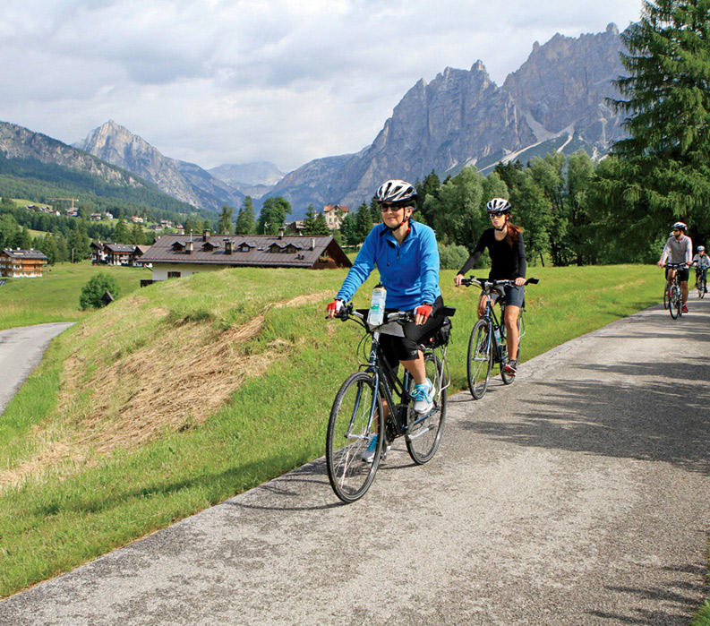Dolomite Valleys Italy Bike Tour Vbt Bicycling Vacations