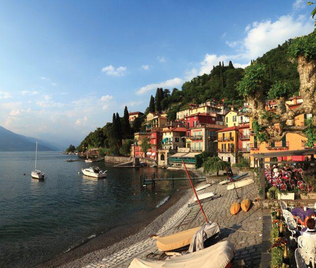 Como lakeside, Italian lakes