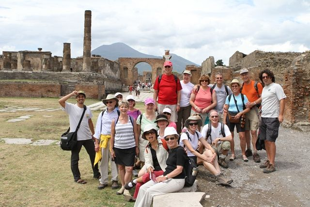 VBT Group at Pompeii