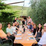 Gateway to the Dolomites: Biking Bolzano to Lake Garda - Guests Dining