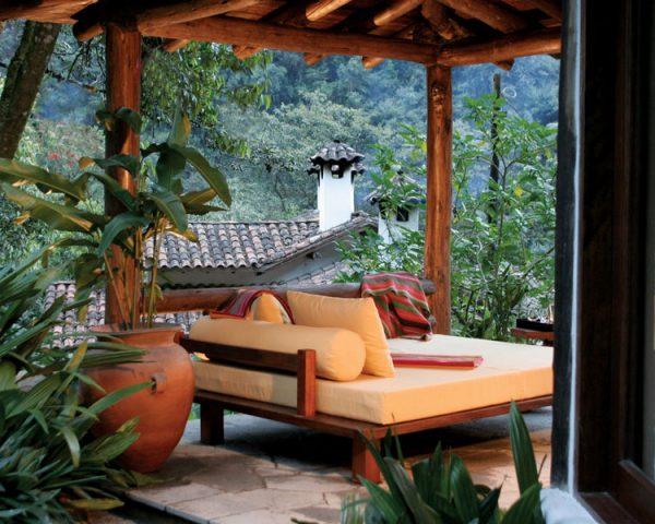 Inkaterra Machu Picchu lounge