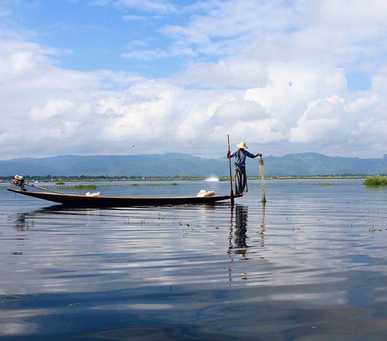 Inle Lake Boat