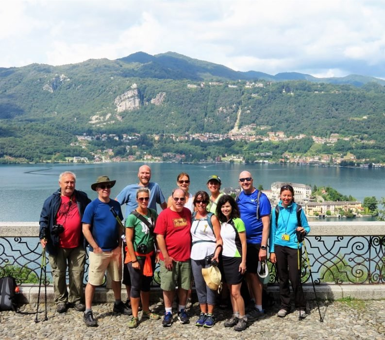 Italian Lakes Group photo