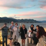 Walking The Italian Lakes Tour - Sunset Cheers