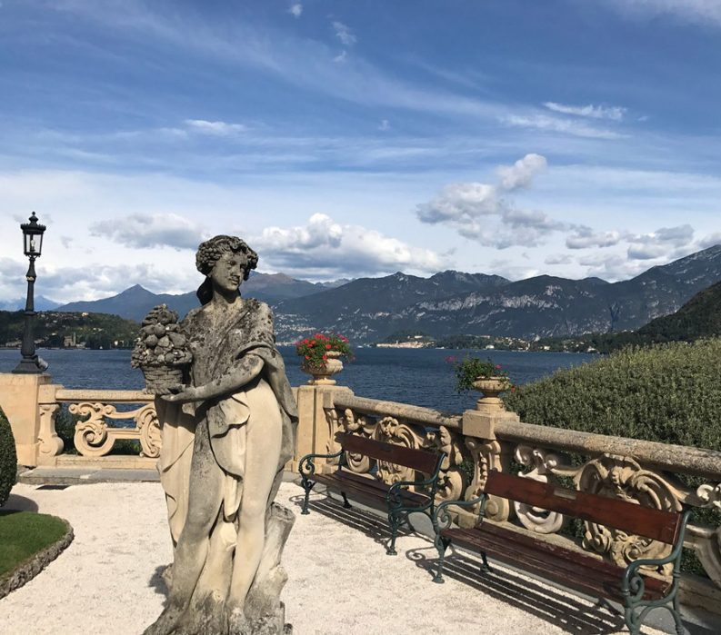 Walking The Italian Lakes Tour - Statue
