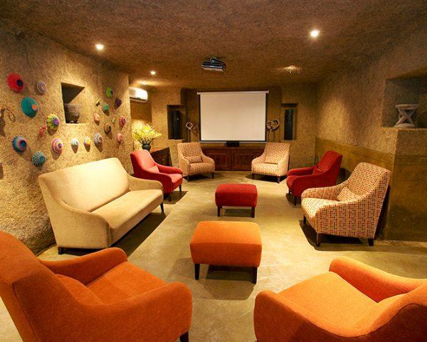 Kapama River Lodge Media Room