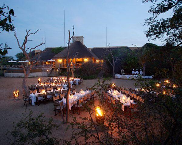 Kapama River Lodge Outdoor Dining