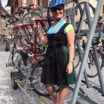 Kristin VBT Trip leader, Lake Constance