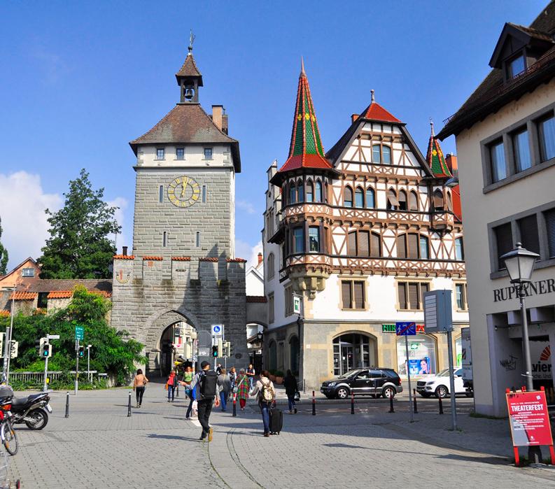 Lake Constance: Germany, Austria & Switzerland - City streets