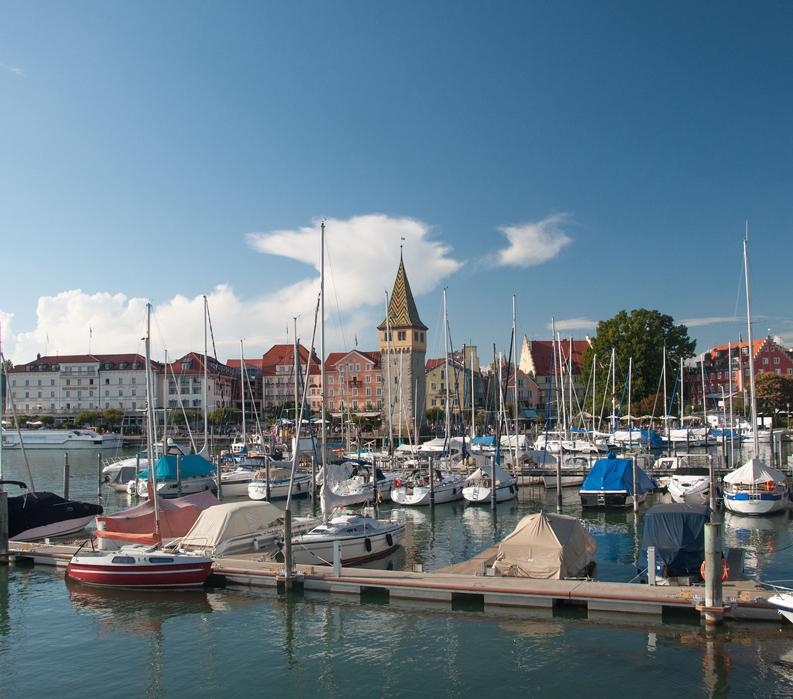 Lake Constance: Germany, Austria & Switzerland - Boats in harbor