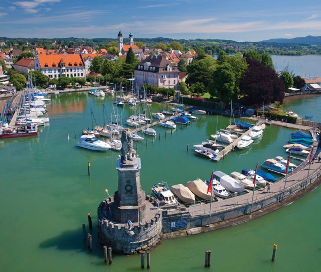 Gorgeous Lake Constance is perfect for a bicycle tour