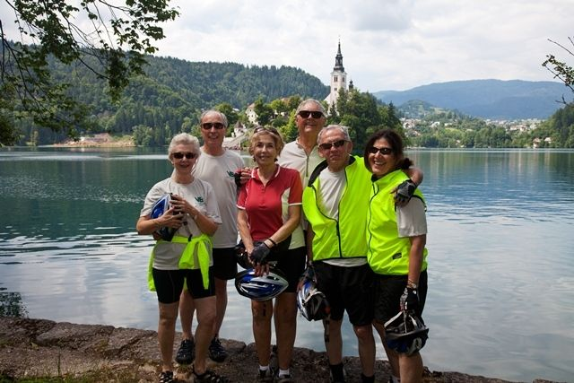 VBT Travelers at Lake Bled