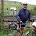Lowell on Bike