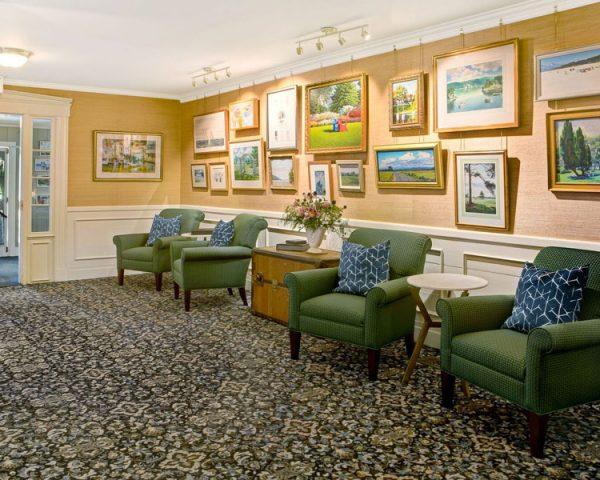Basin Harbor Club Lobby