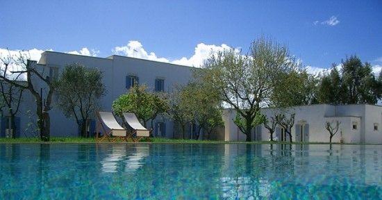 Masseria Montelauro pool