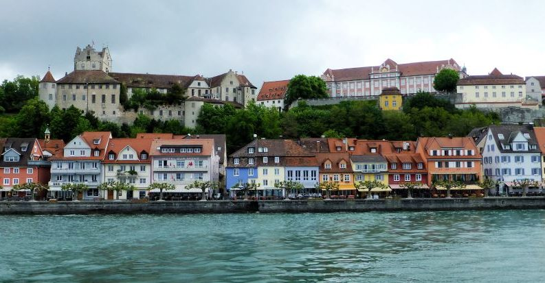 Meersburg, lake Constance, Germany