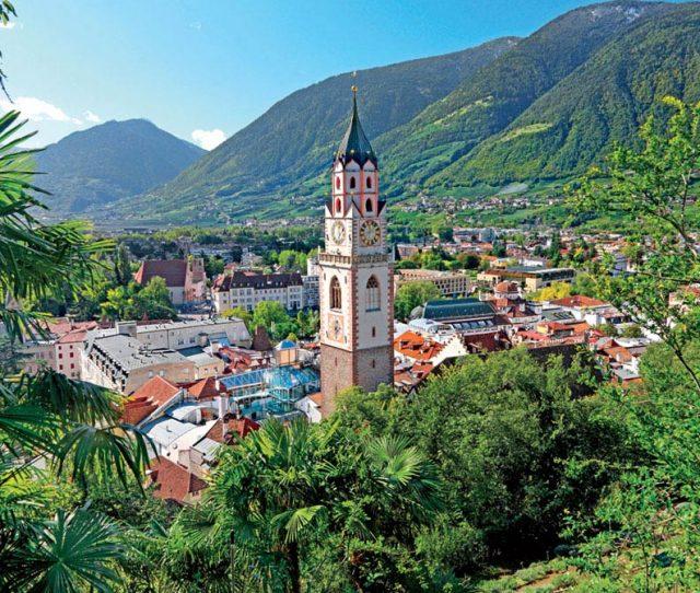 Merano stay on your Dolomite bike tour