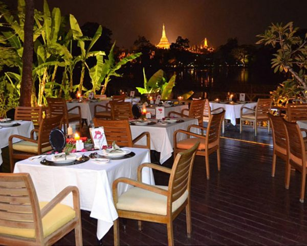 Myanmar Kandawgyi Palace Outdoor Dining