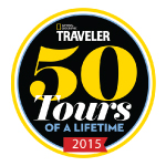 VBT Vacations Awarded National Geographic Traveler's 50 Tours of a Lifetime