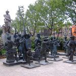 The Night Watch statues, Amsterdam