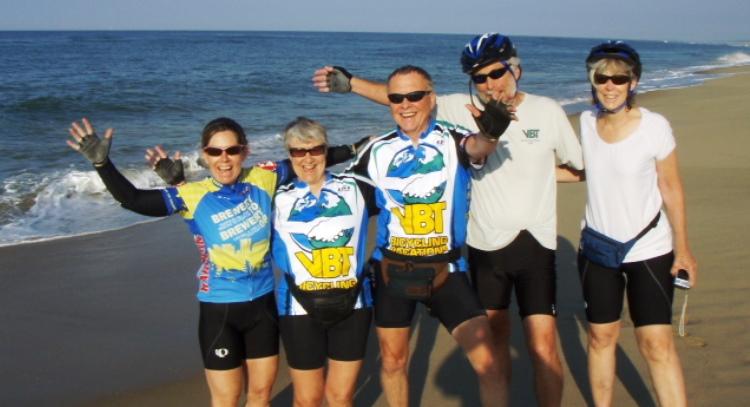 Martha's Vineyard Bike Tour guests