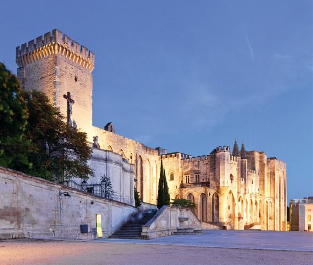 France, Provence-Alpes-Cote d'Azur, Avignon, Provence, Palais des Papes,