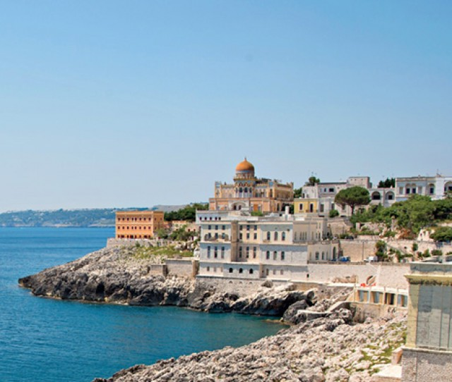 Coastline, Puglia bike tour