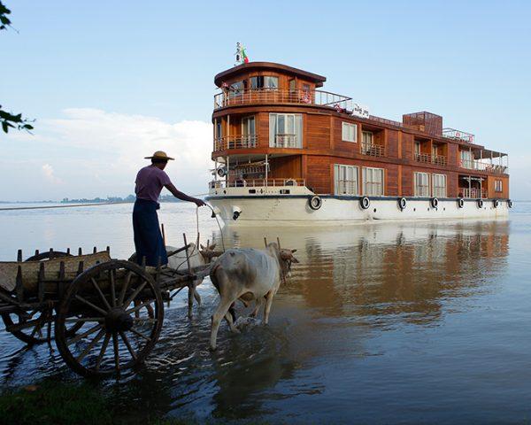 Paukan Cruises River Boat Myanmar