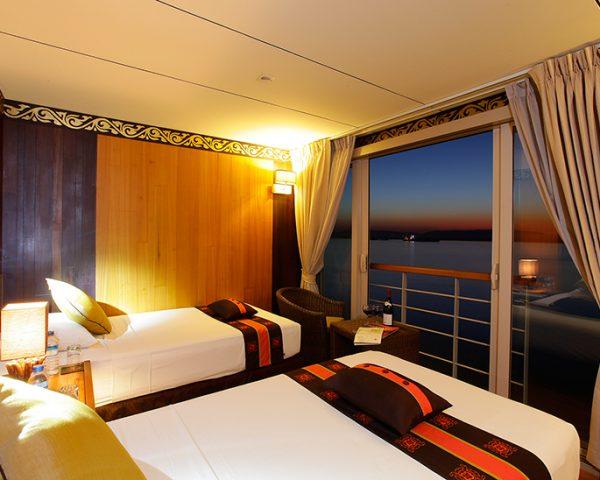 Paukan Cruises River Boat Guest Room