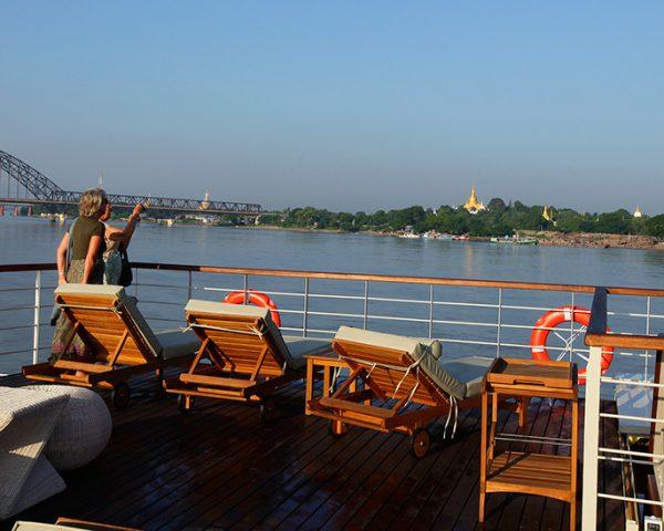Paukan Cruises River Boat Sun Deck