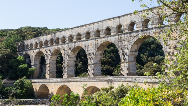Pont du Gard UNESCO, VBT France biking