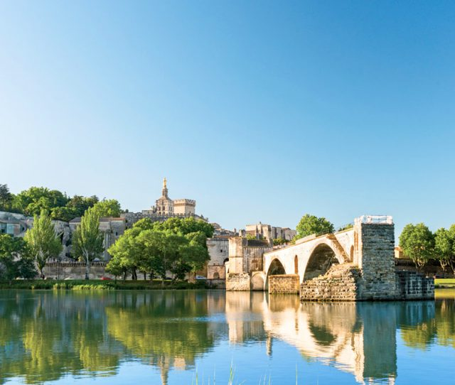 Popular bike tour destination, Provence