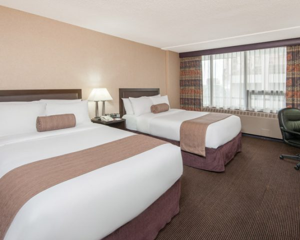 Ramada Calgary Downtown Double Room