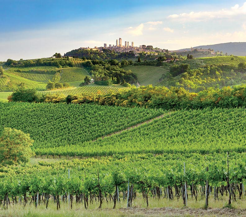Tuscan Hill Towns Bike Tour Vbt Bicycling Vacations