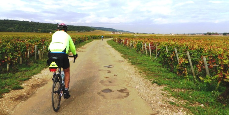 Route Grand crus Burgundy