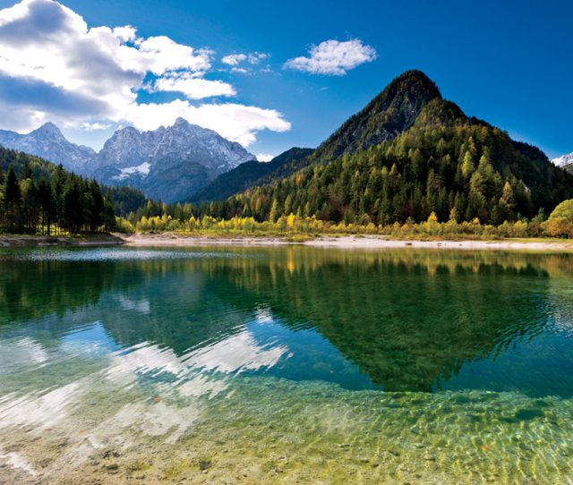 Lake Fusine; VBT Slovenia Austria & Italy Bike Vacation