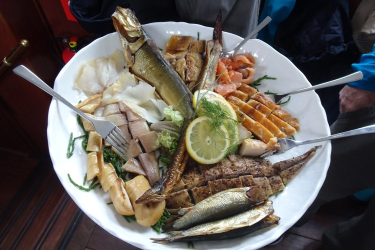 Fish dinner in North Holland, blog