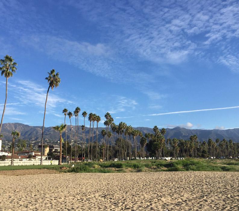 Santa Barbara and the Santa Ynez Valley, Santa Barbara Beach