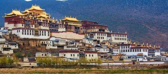 Shangri-la Songzanlin monastery 1