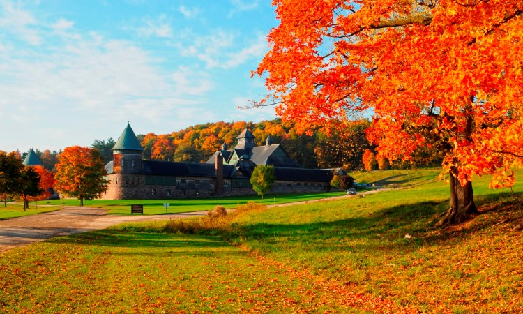 Shelburne Farms, Lake Champlain, Vermont
