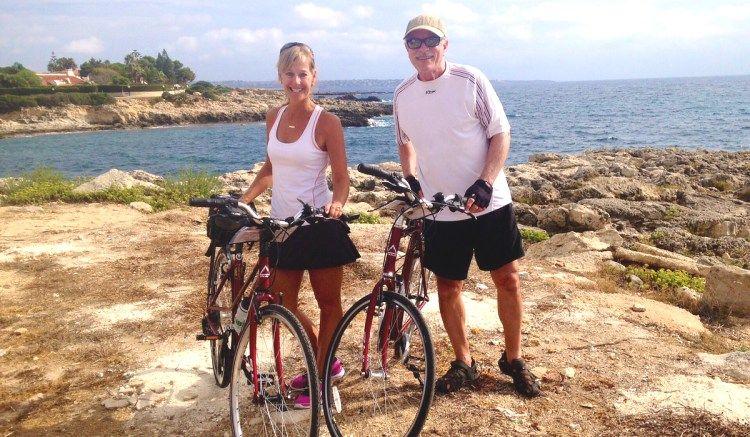 Sicily bike beach