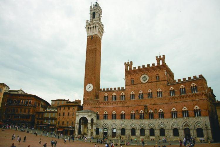 Siena, Plaza del Campo VBT