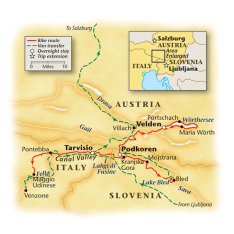 Bike Slovenia Trail Map