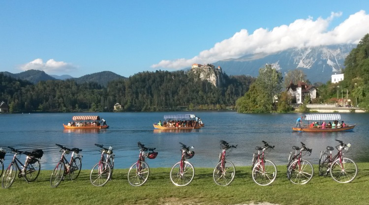 Slovenia Bike Tour group VBT