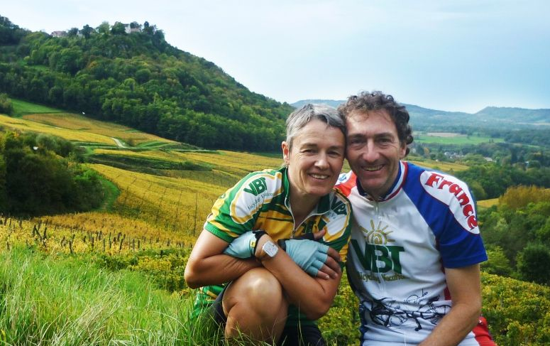 Sophie and Bruno TDF 2012